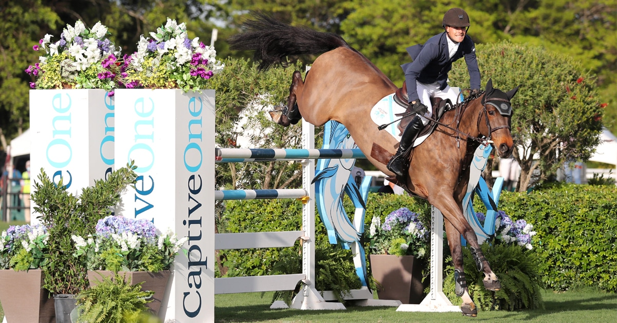 Thumbnail for Harley Takes Top Honours in the $37,000 1.50m Classic at WEF
