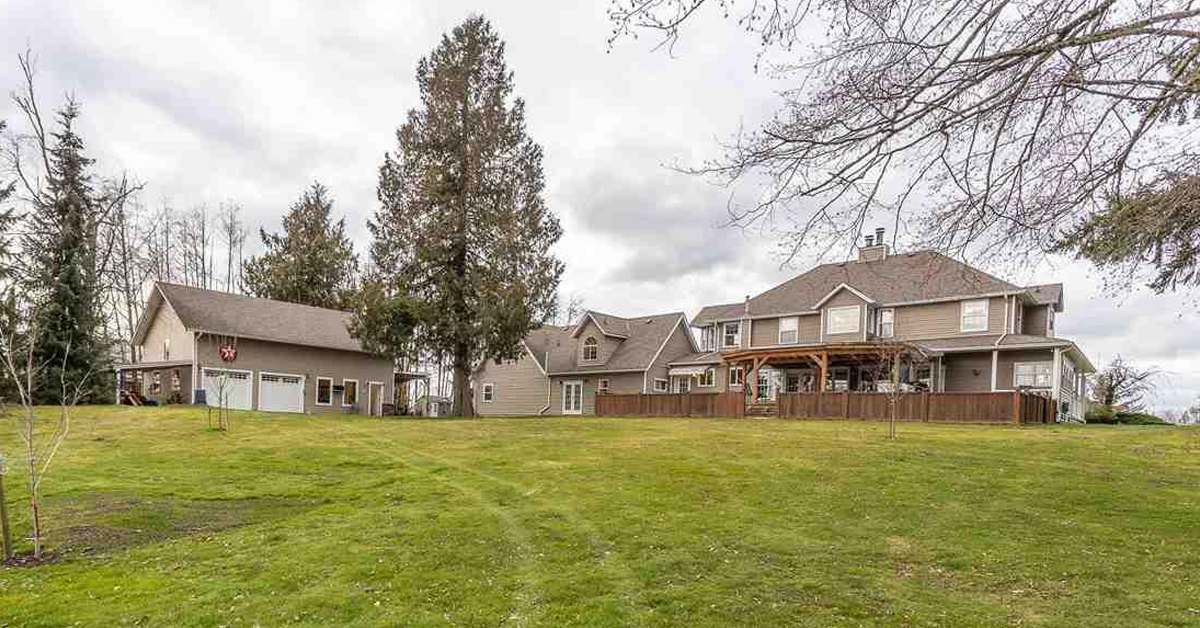 Thumbnail for $3,799,000 for a gorgeous Victorian-inspired home with barn, inlaw suite in Langley, BC