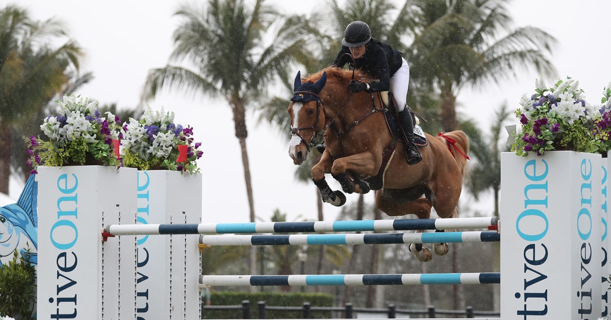 Thumbnail for Jessica Springsteen and Volage Du Val Henry Win 1.50m Classic CSI4*