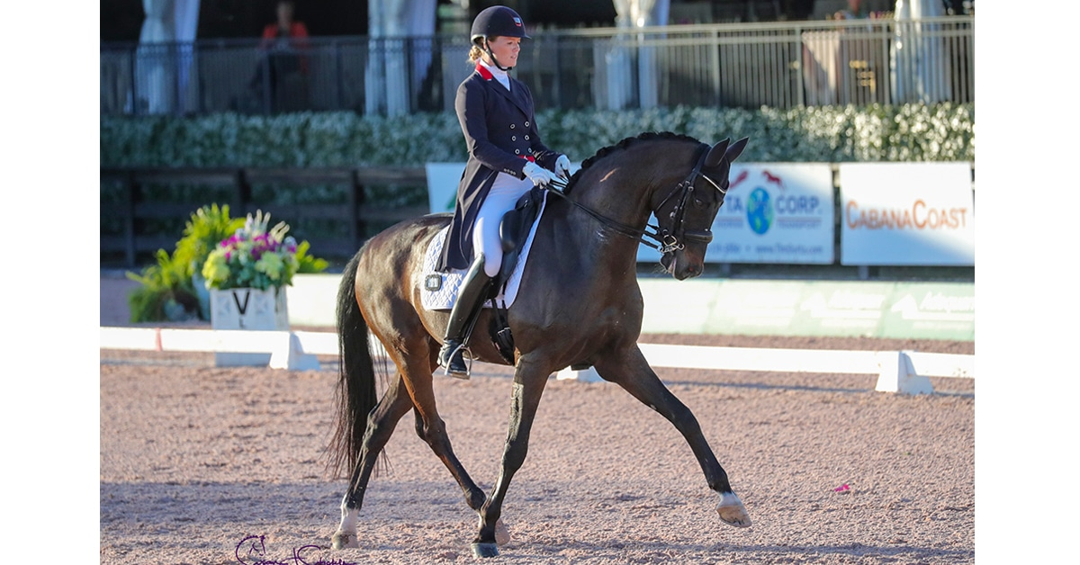 Thumbnail for Personal Best Grand Prix Score for Kellock and Sebastien at AGDF5
