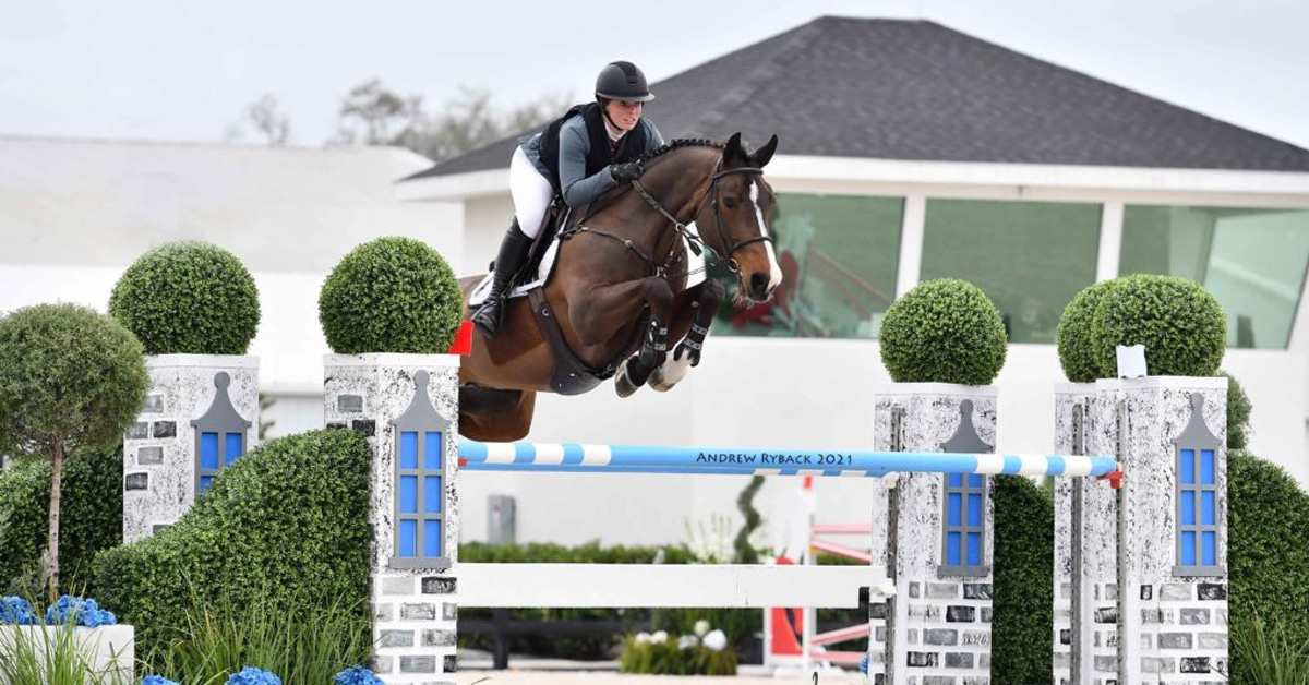 Thumbnail for Kady Abrahamson and Any Capture $75,000 WEC Grand Prix 1.50m
