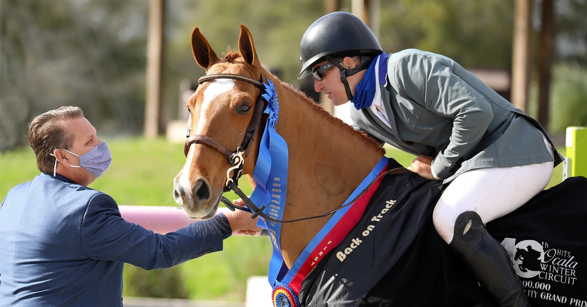 Thumbnail for Aaron Vale and Elusive Top $200,000 Grand Prix in Ocala