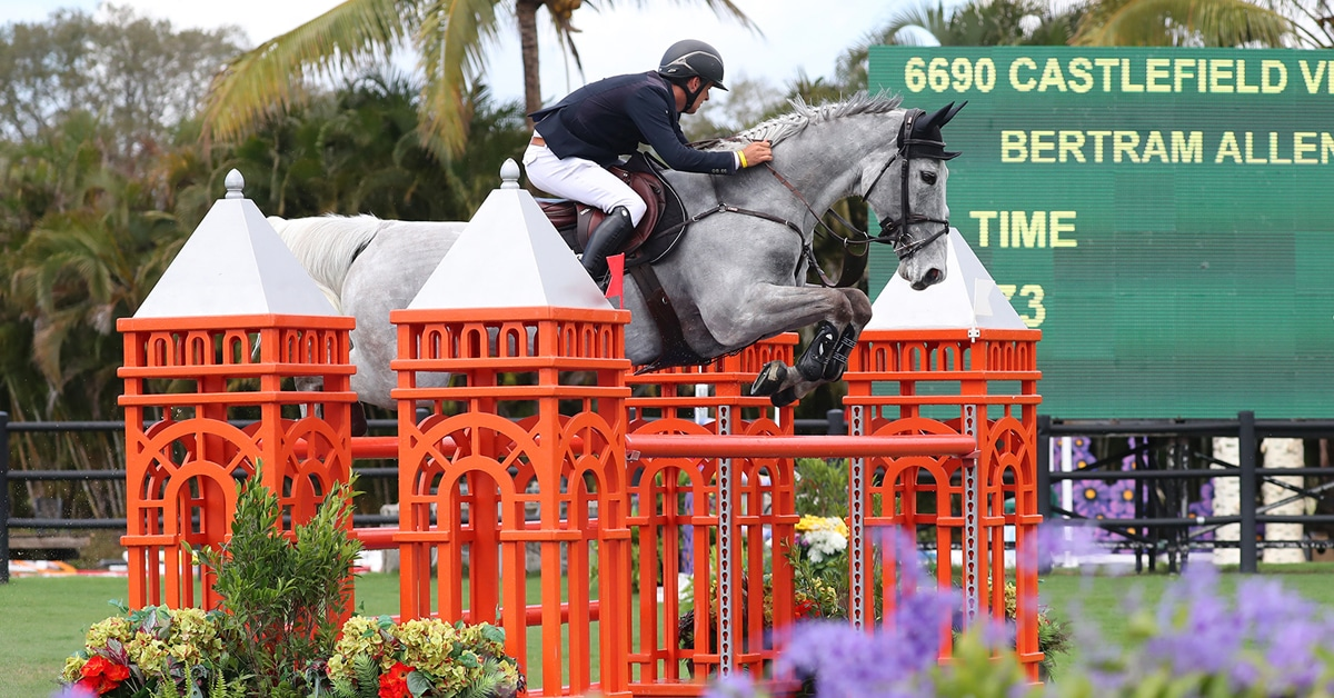 Thumbnail for Bertram Allen and Castlefield Vegas Win WEF Challenge Cup 6