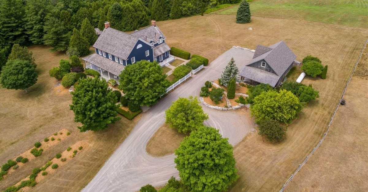 Thumbnail for $3,999,000 for a country estate in the Northumberland Hills, Ontario