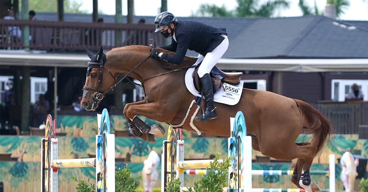 Thumbnail for Eric Lamaze and Chacco Kid Win Thursday Feature at WEF 10