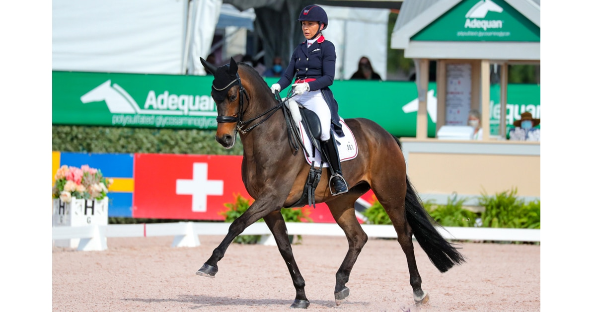 Thumbnail for Jill Irving and Arthur Second in FEI Grand Prix CDI-W