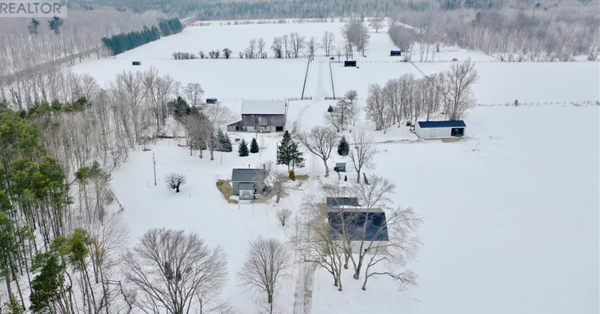 Thumbnail for $1,725,000 for country living on over 100 acres near Barrie, Ontario