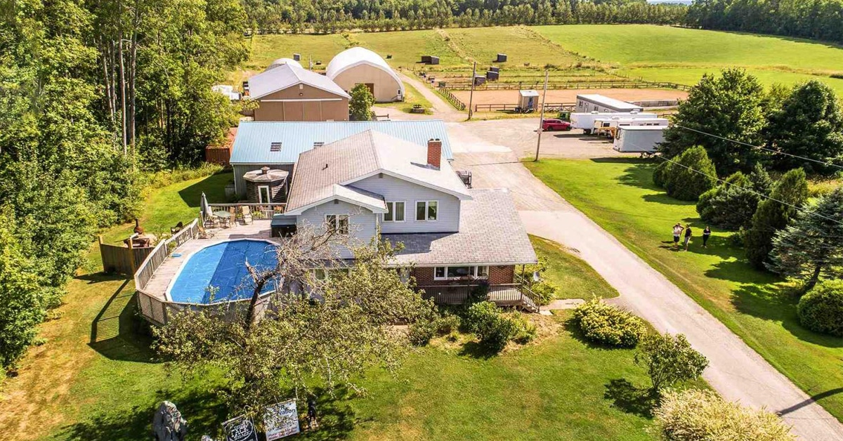 Thumbnail for $850,000 for a well-appointed show facility in Hantsport, NS