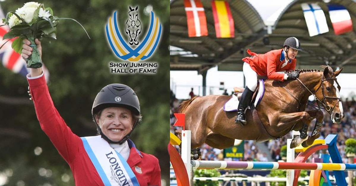 Thumbnail for Margie Engle, Sapphire Inducted Into US Show Jumping Hall of Fame