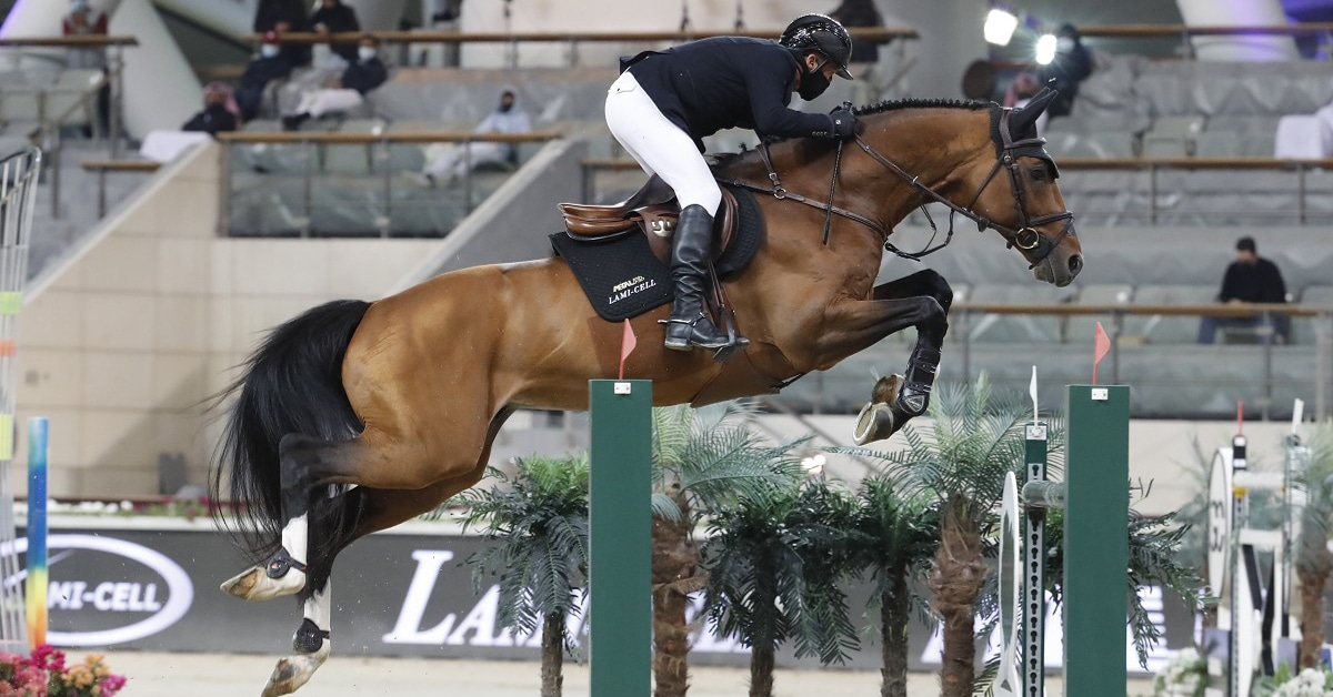 Thumbnail for Eric Lamaze Places Third in €375,000 Grand Prix of Doha