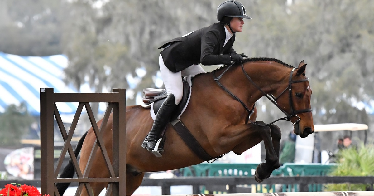 Thumbnail for Cassandra Kahle Takes Hunter Derby for 2nd Week in a Row