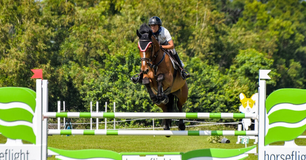 Thumbnail for Canada's Kim Farlinger and Ibalius 2nd in Rising Star Classic