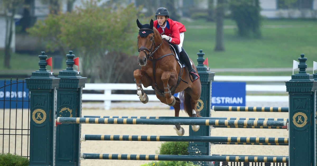 Thumbnail for Colleen Loach and Vermont 4th in CCI4*-S in Kentucky