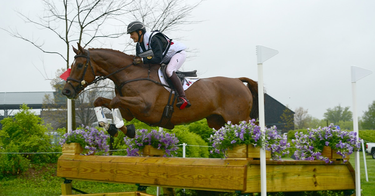 Thumbnail for CCI4*-S Cross-Country: Colleen Loach and Vermont Sit 3rd