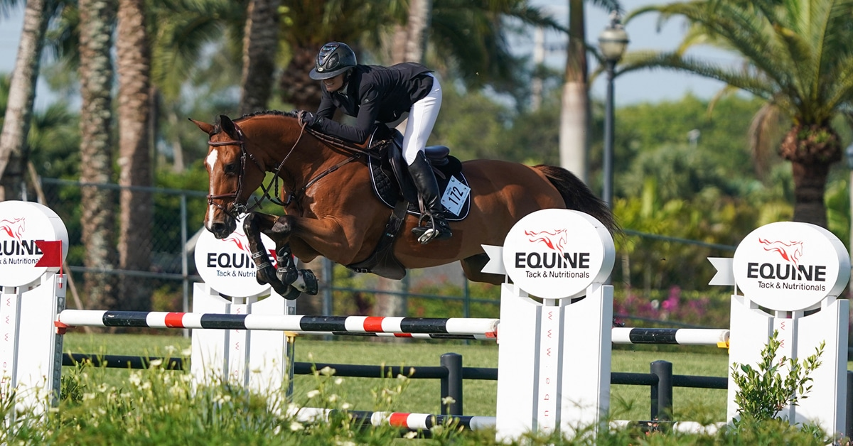Thumbnail for Ballard Scores Victory in $37,000 Qualifier CSI3* at ESP Spring III