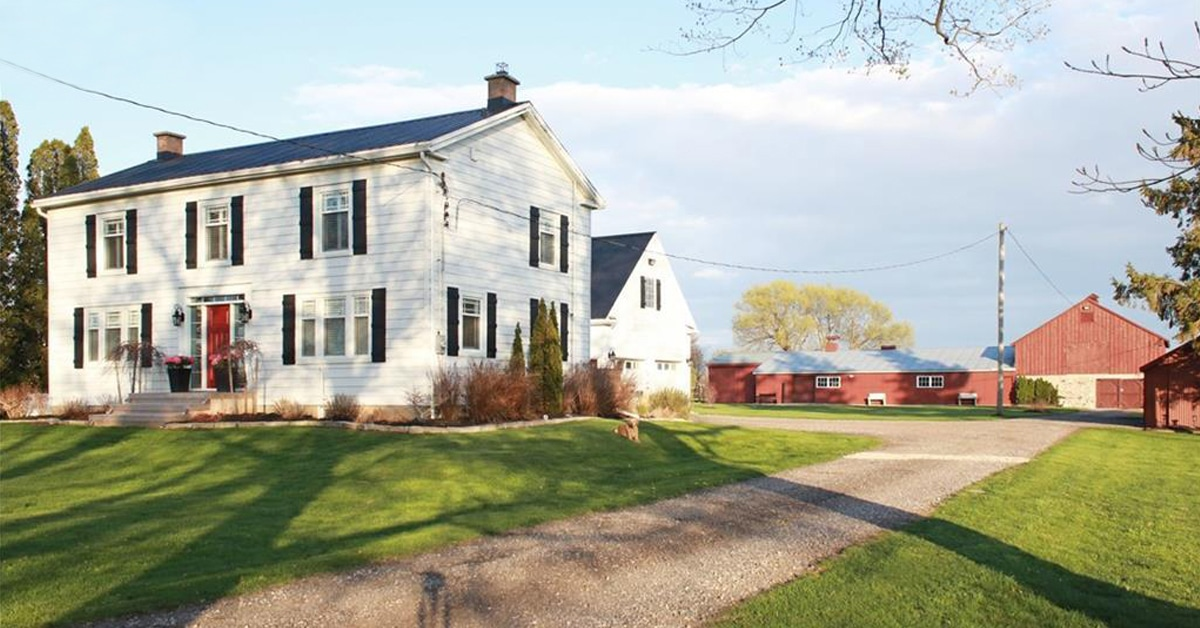 Thumbnail for $1,450,000 for a picturesque 13-acre hobby farm in Beachville, ON