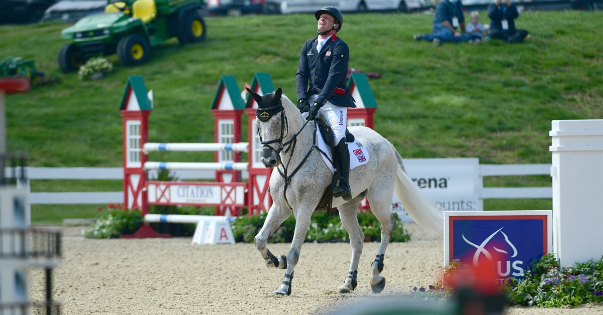 Thumbnail for Oliver Townend Does it Again at the Kentucky CCI5*-L