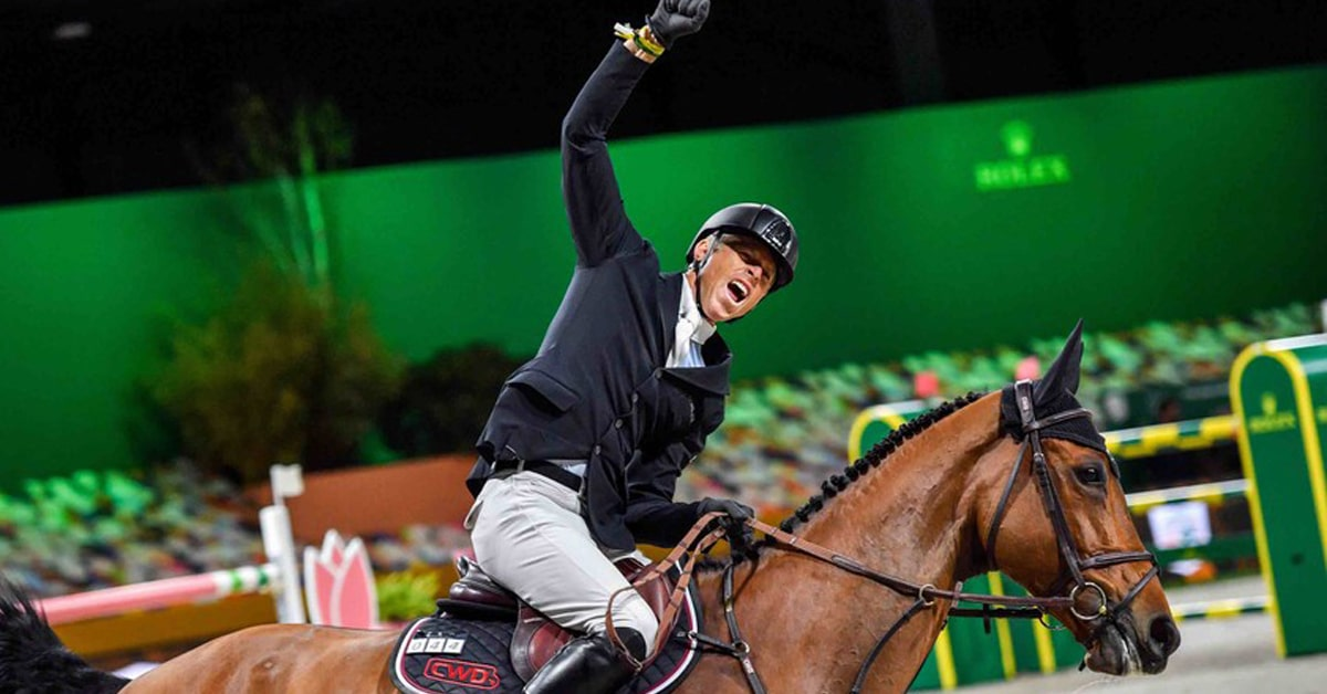 Thumbnail for Max Kühner and Elektric Blue Win Rolex Grand Prix