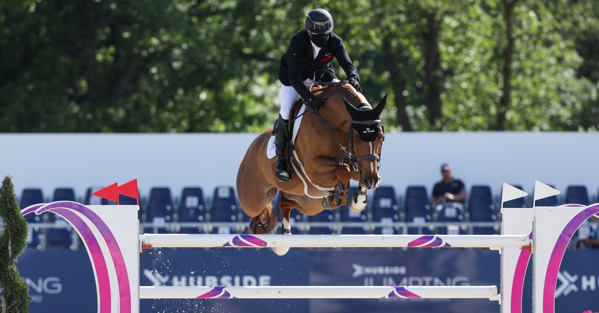 Thumbnail for Eric Lamaze Fourth in Thursday's 5* Feature at Hubside
