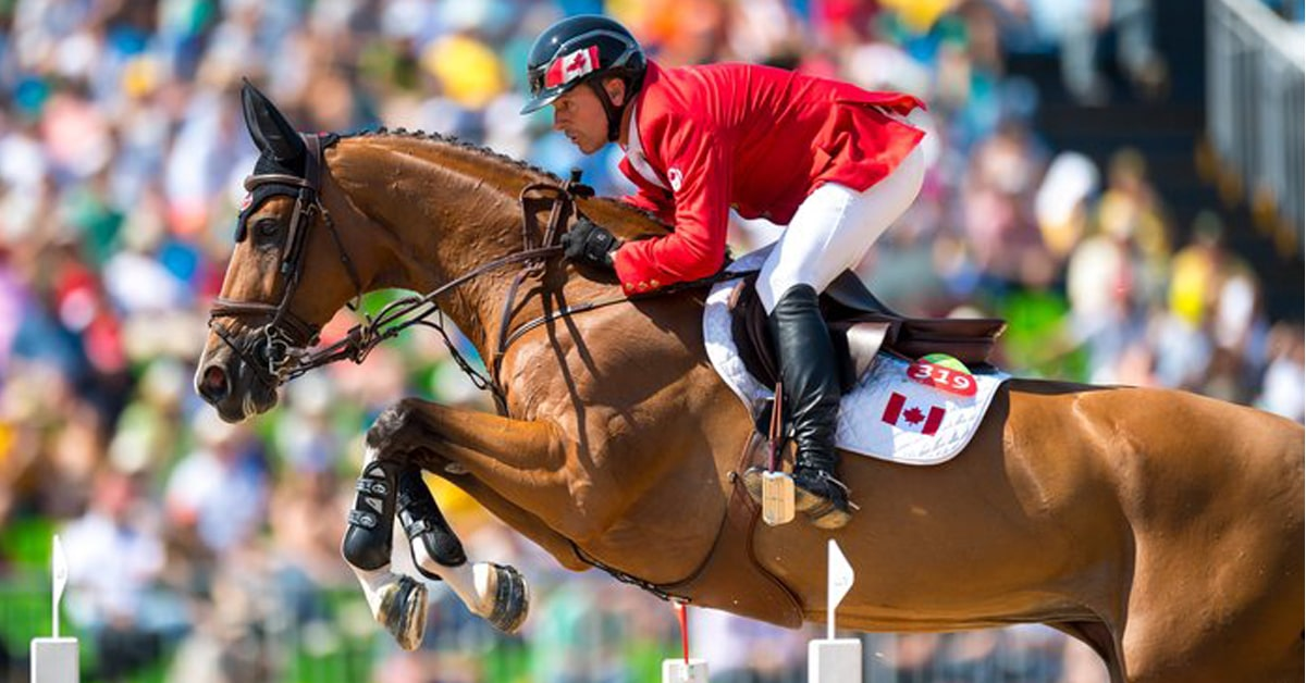 Thumbnail for Eric Lamaze Withdraws from Tokyo Olympic Consideration