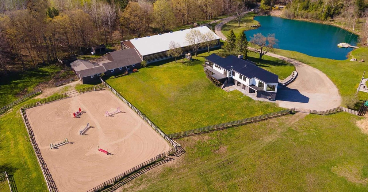 Thumbnail for $3,440,000 for a tranquil Zen paradise in Caledon, Ontario