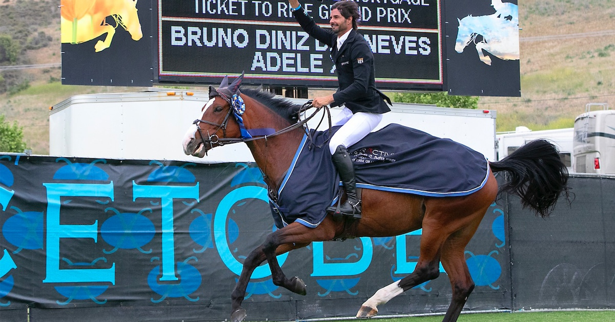 Thumbnail for Bruno Diniz Das Neves and Adele XIII Win $75,000 Grand Prix