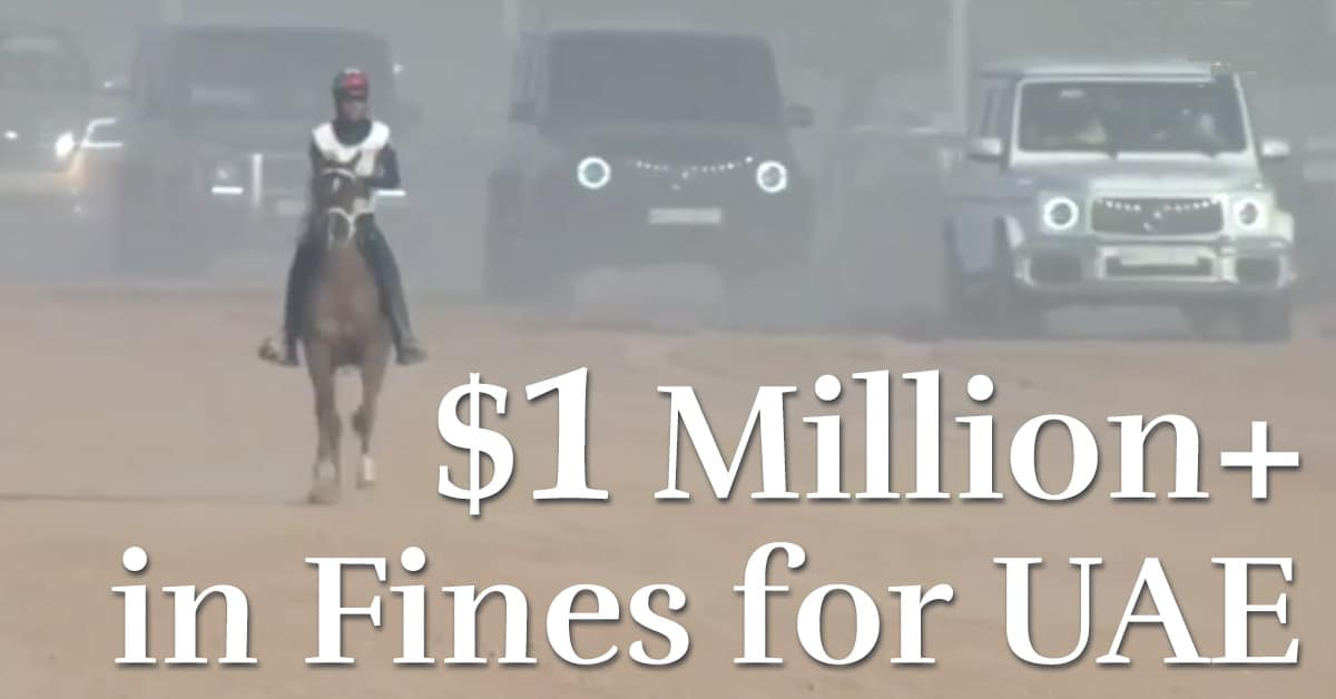 Thumbnail for UAE Breach of Foreign Rider Rules 'Knowing and Deliberate': CAS
