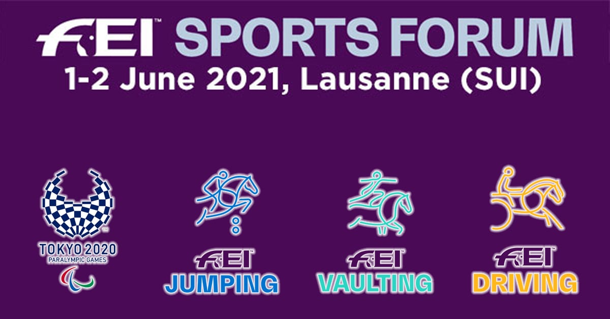 Thumbnail for FEI Sports Forum 2021 Updated Timetable Available