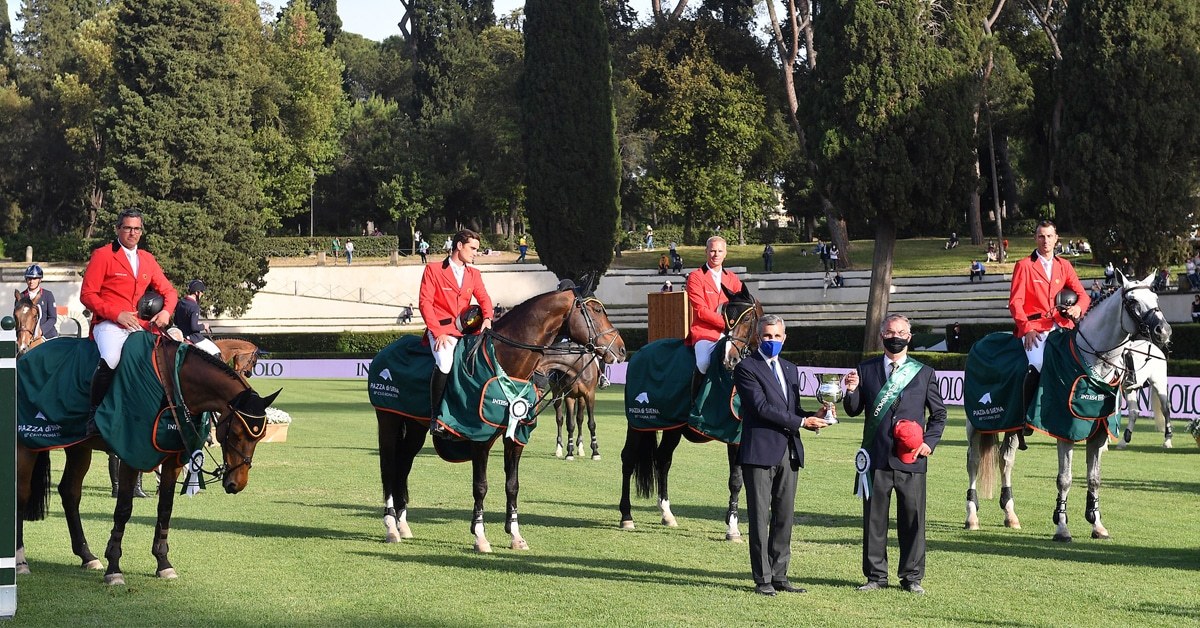 Thumbnail for Belgium Edges Germany in Nations Cup at CSIO Rome