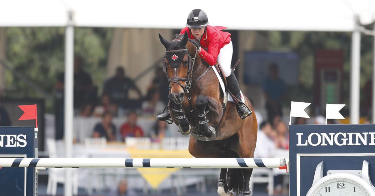 Thumbnail for Canadian Show Jumping Team Remains Disqualified From Tokyo Olympics