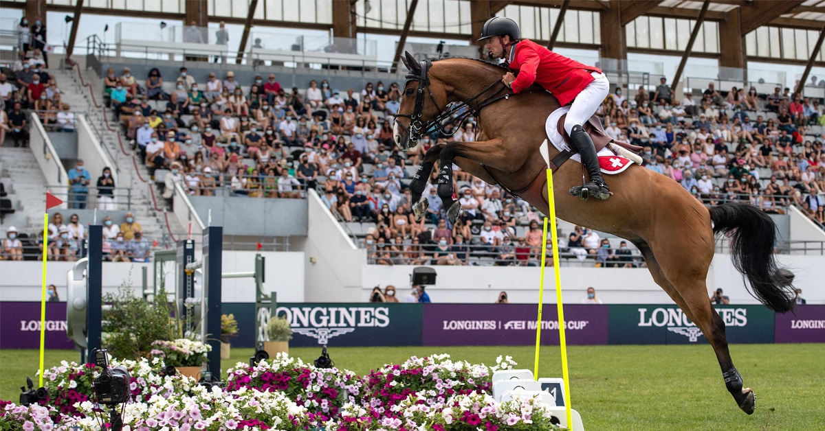 Thumbnail for Swiss are Superb in FEI Jumping Nations Cup at La Baule