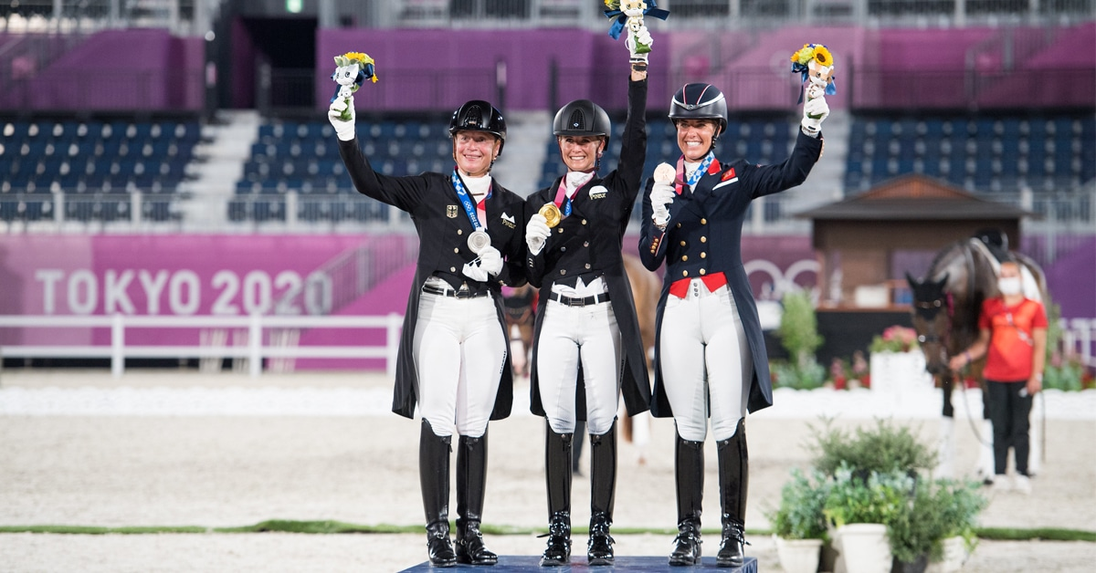Thumbnail for Jessica von Bredow-Werndl Takes Individual Gold With TSF Dalera