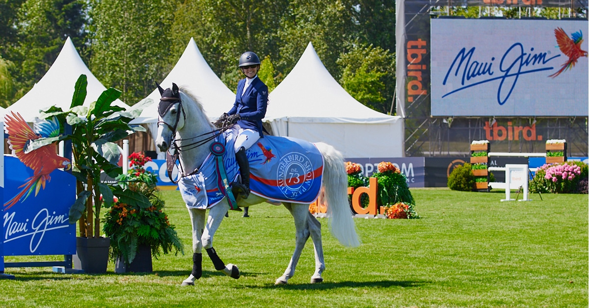 Thumbnail for Show Jumping Action at Tbird Culminates in Win for Phillips