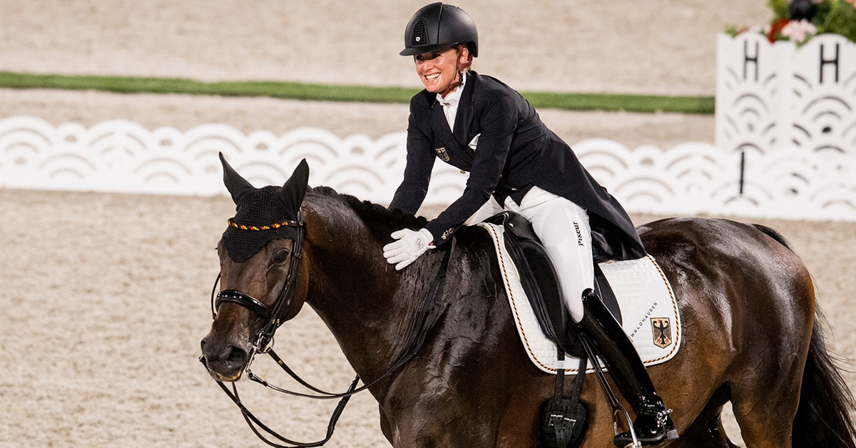 Thumbnail for Day 1 Dressage: Sensational Start to Race for Olympic Titles