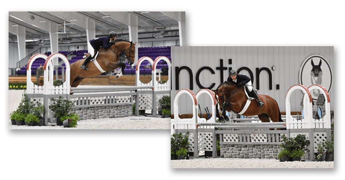Thumbnail for Brady Mitchell Places One-Two in $12,500 WEC Ocala Hunter Derby