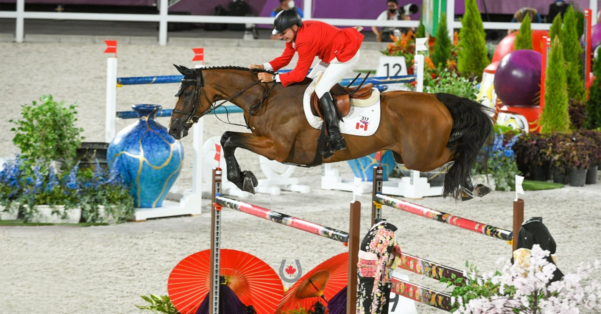 Thumbnail for Mario Deslauriers and Bardolina Advance to Individual Final