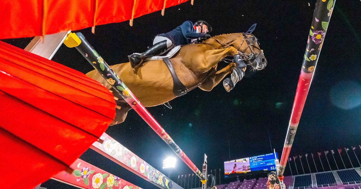 Thumbnail for Battle for Individual Jumping Medals Takes Shape in Tokyo