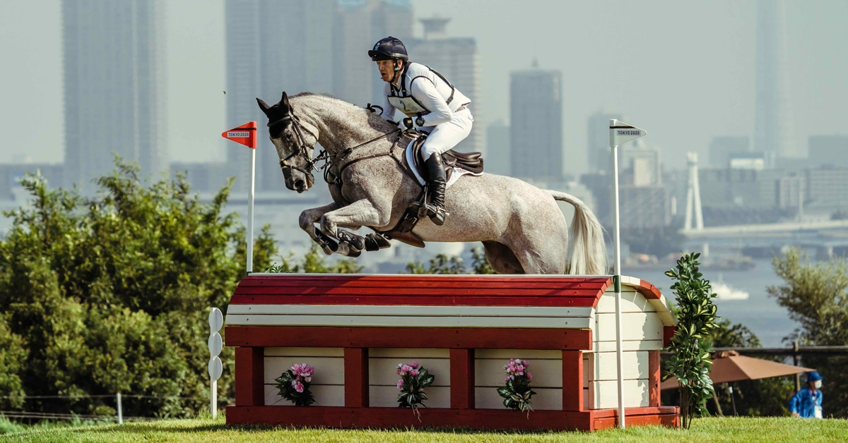 Thumbnail for Townend Regains Lead, British Still On Top After Cross-Country